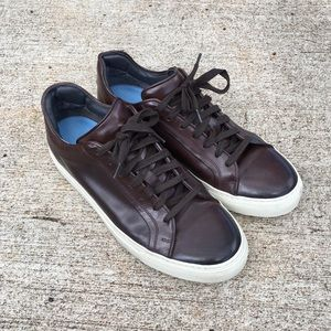 To Boot New York lace up leather sneakers size 9
